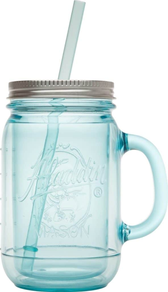 Drink cold-crew coffee in a mason jar tumbler. I swear this makes it taste better.