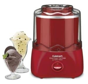 Cuisinart ICE-20R 1-1/2-Quart Automatic Ice Cream, Frozen Yogurt & Sorbet Maker, Red