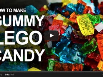 Fun Birthday Party Ideas + How To Make LEGO Gummy Candy Tutorial *Awesome. Saving this for later...