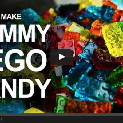 Whoa … You've Got to Watch This Awesome Video On How To Make LEGO Gummy Candy