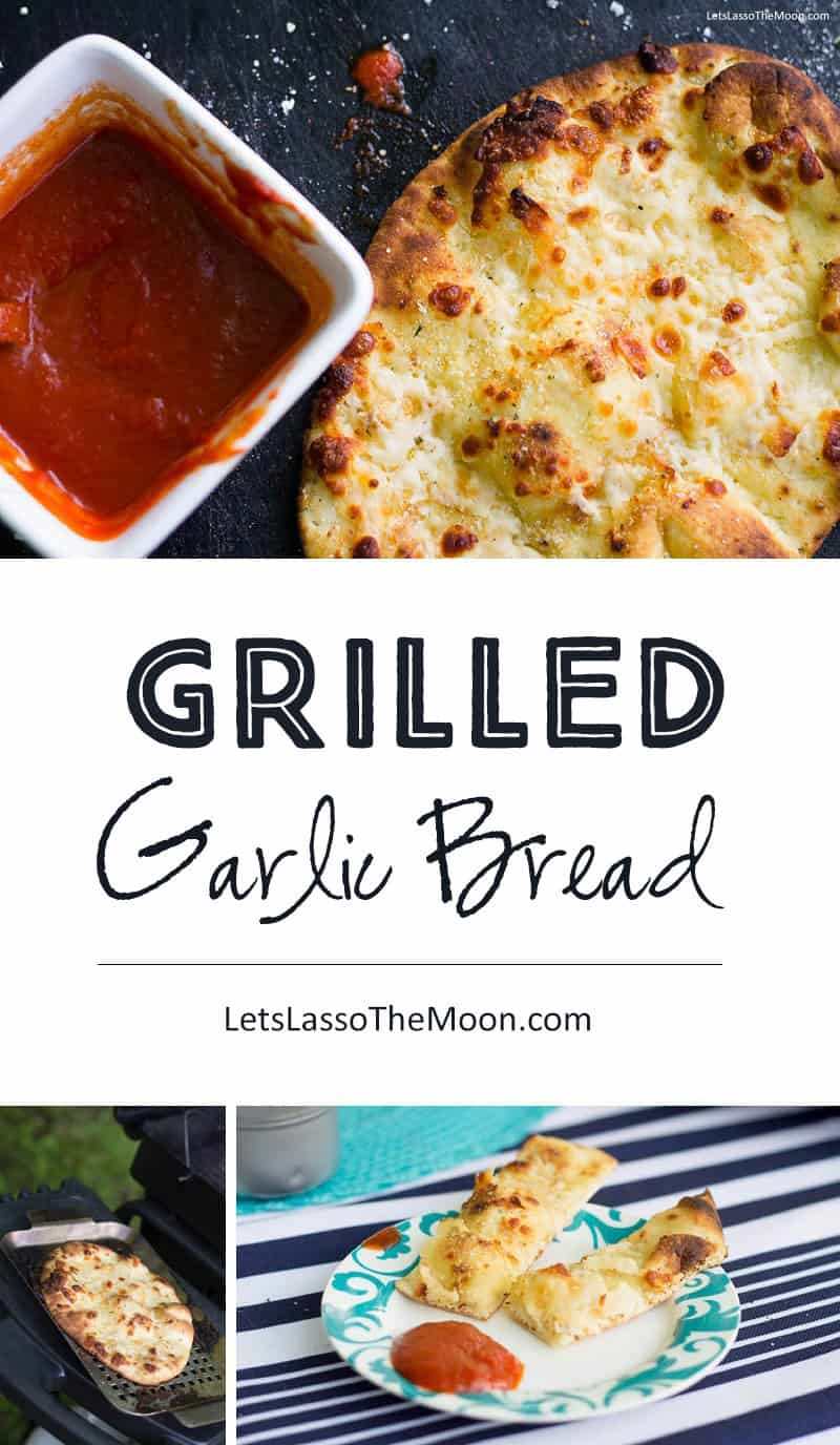If you're planning on grilling, this is a must-try side you can throw on the top rack. *This Cheesy Grilled Garlic Bread recipe sounds savory, simple and delicious!