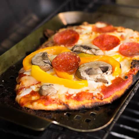Family-Style Grilled Pizza