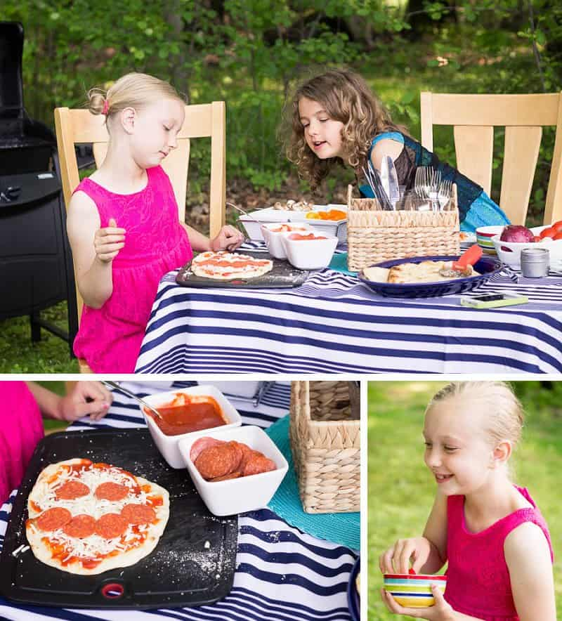 Family Pizza Night: Individual Grilled Pizza Recipe *This sounds delicious
