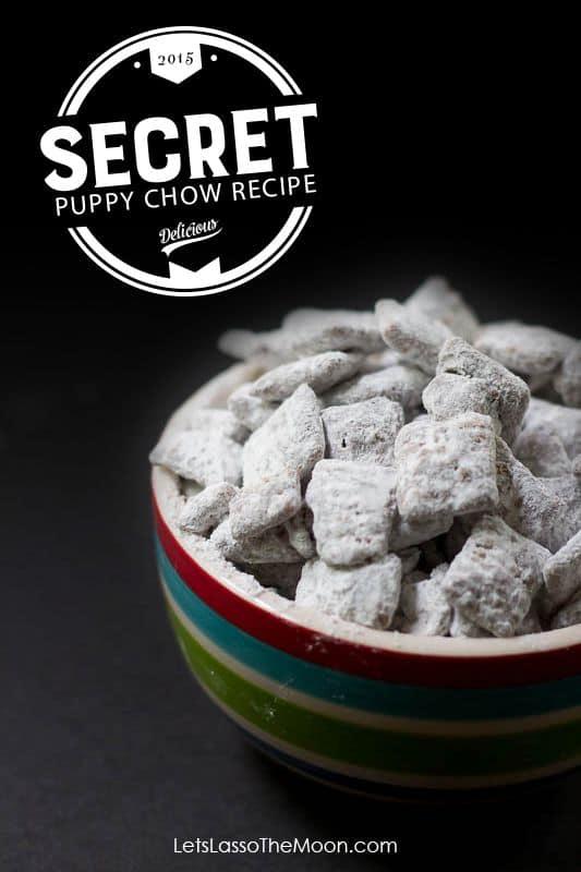 Super Secret Puppy Chow Recipe *My kids love this...