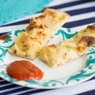 Cheesy Grilled Garlic Bread