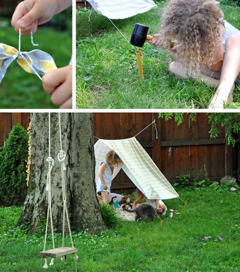 Simple Summertime Tents