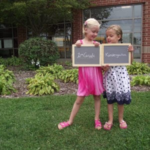 Capturing Childhood: First & Last Day of School Photos