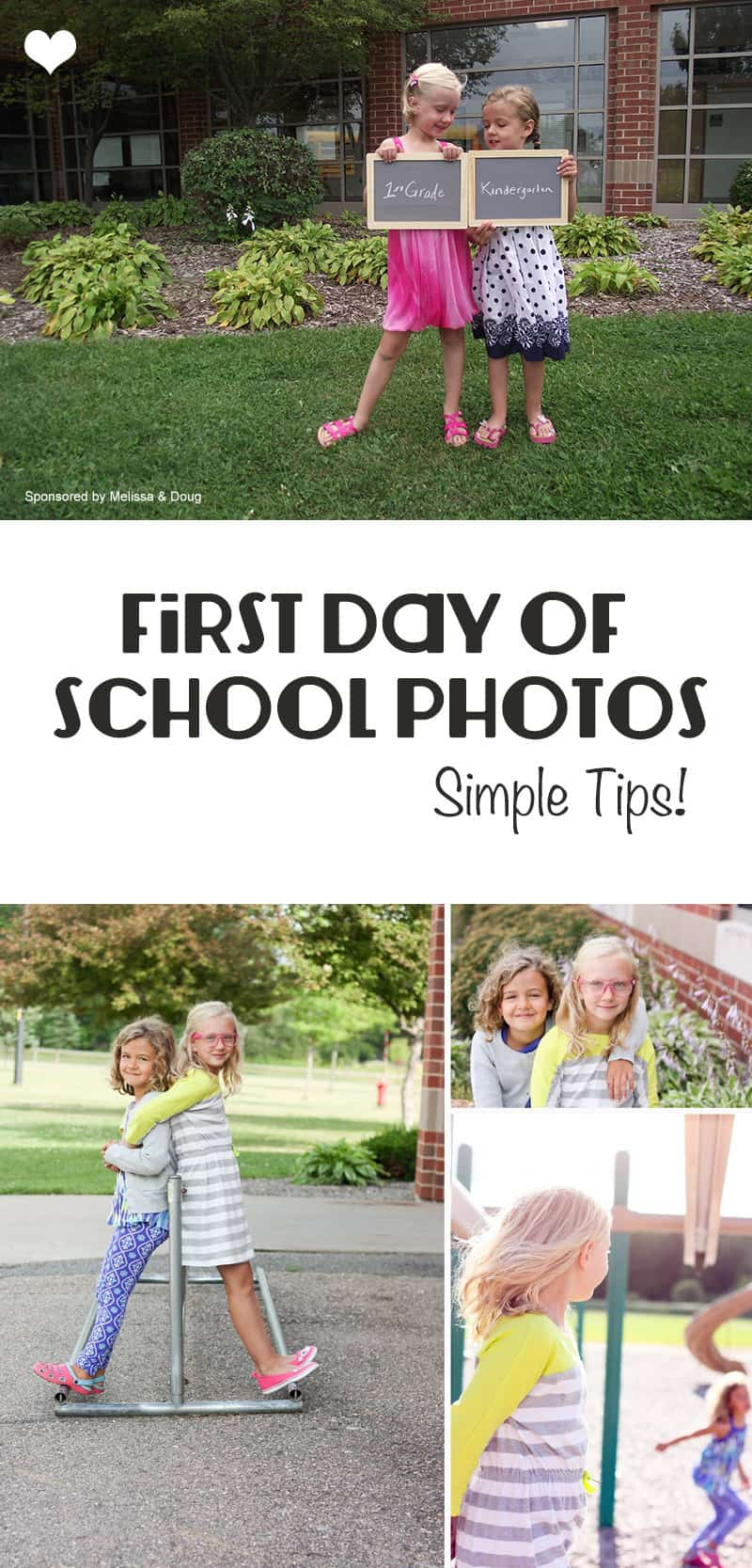 First Day of School Photos // Great tips on ensuring you get a great photos!