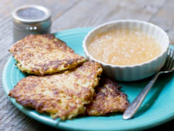 Love Latkes! Saving this potato pancake recipe for later. YUM.