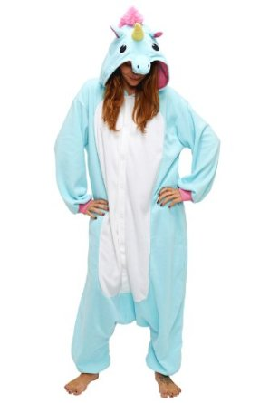 Children's Halloween costumes that your kids can wear coats under for cold weather trick-or-treating *Love this unicorn costume