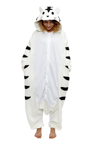 Children's Halloween costumes that your kids can wear coats under for cold weather trick-or-treating *Love this tiger costume