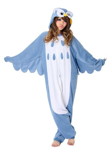 Children's Halloween costumes that your kids can wear coats under for cold weather trick-or-treating *Love this owl costume