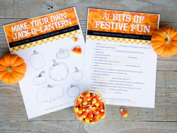 Halloween Family Fun Guide *Great collection of autumn recipes, holiday arts & crafts and fall activities for kids...