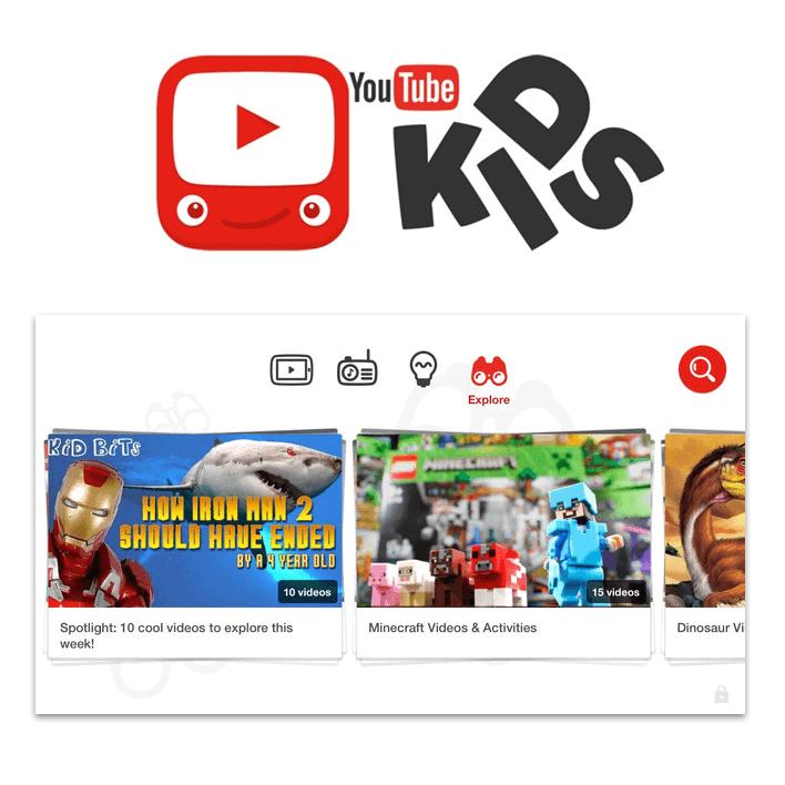 YouTube Kids ... Loving this free app
