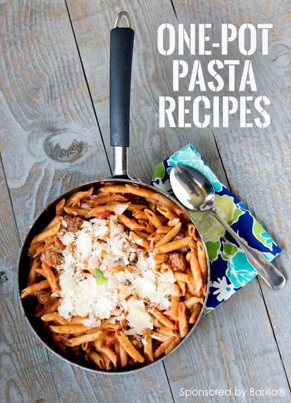Red Pepper One-Pot Pasta **Great collection of family-friendly one-pot recipes for busy parents
