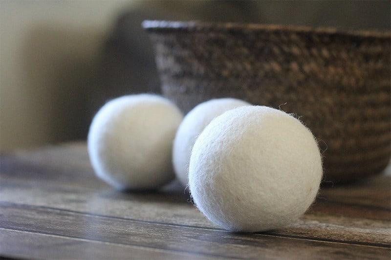 Smart Sheep 6-Pack XL Premium 100% Wool Dryer Balls, Reusable Natural Fabric Softener