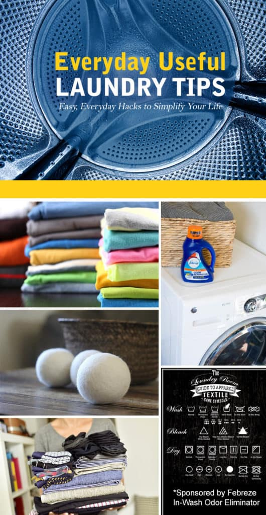Ultimate Stain Solutions Resource + Collection of Laundry Hacks *Love the Textile Care Symbols Guide too