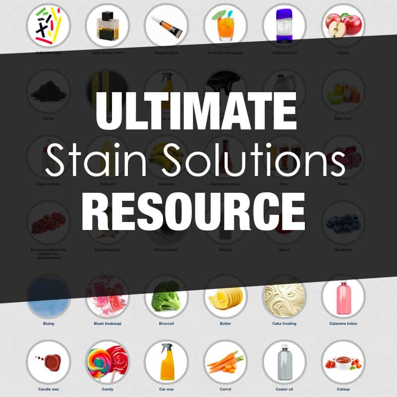 Ultimate Stain Solutions Resource + Collection of Laundry Hacks *Love the textile labels guide too