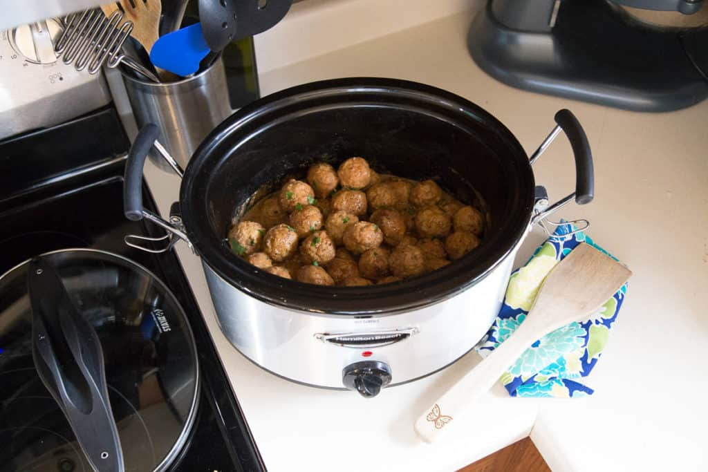 how to cook swedish meatballs in crockpot