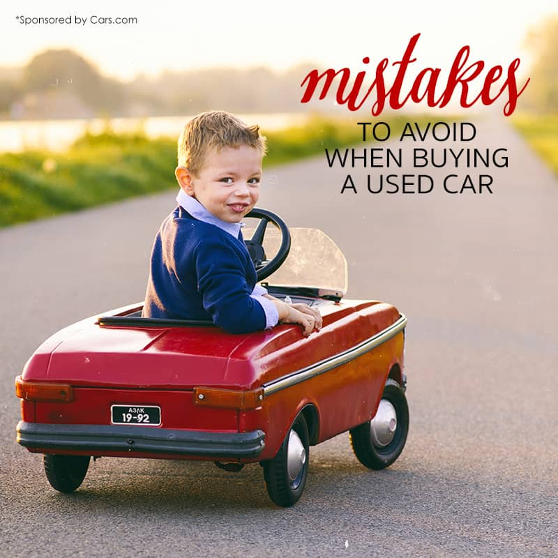 Frugal Car Buying: 12 Mistakes to Avoid When Buying a Used Car for Your Family