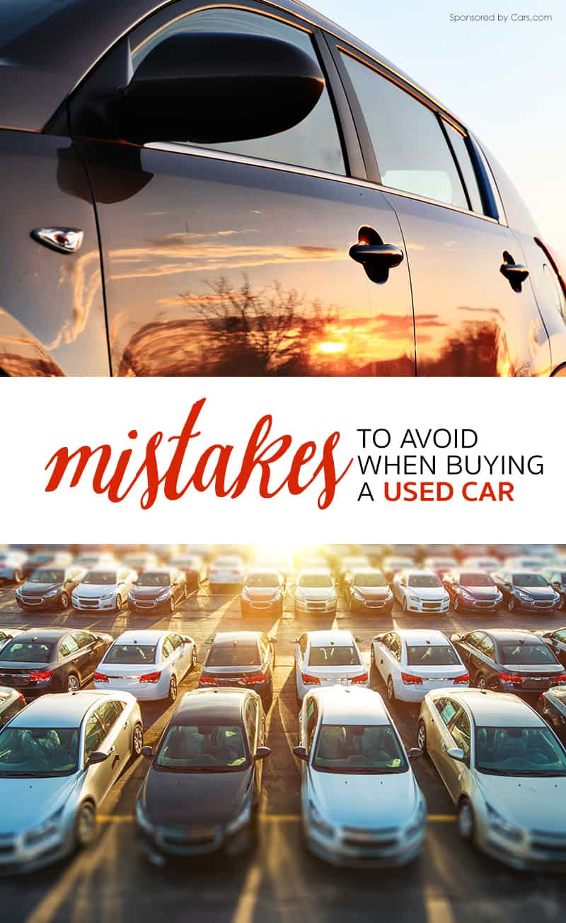 12 Mistakes to Avoid When Buying a Used Car for Your Family