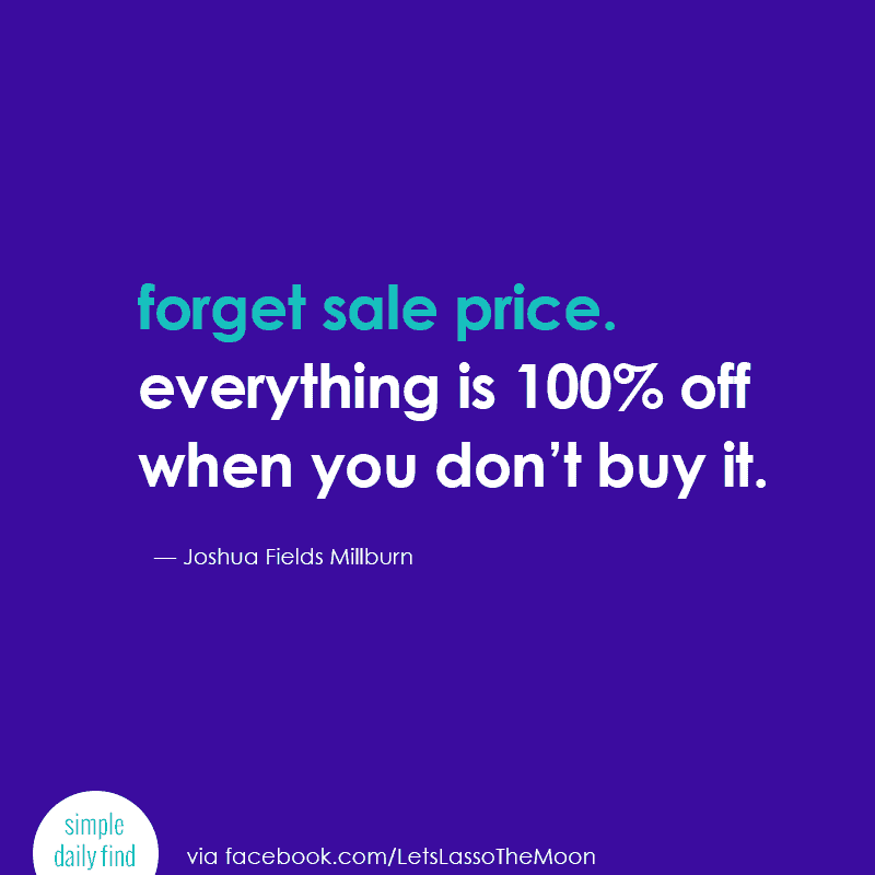 forget sale price.