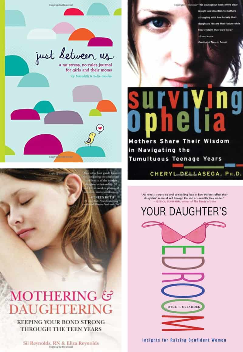 Mother-Daughter Relationship Book List: Great list of books for moms of tweens and teens *Checking some of these out at the library! So ordering a Just Between Us Journal today!