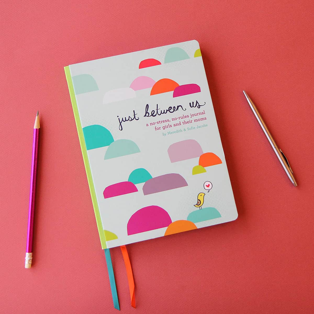 Just Between Us Journal: How to Use a Mother-Daughter Journal To Talk With Your Tween or Teen *This is such a great idea.