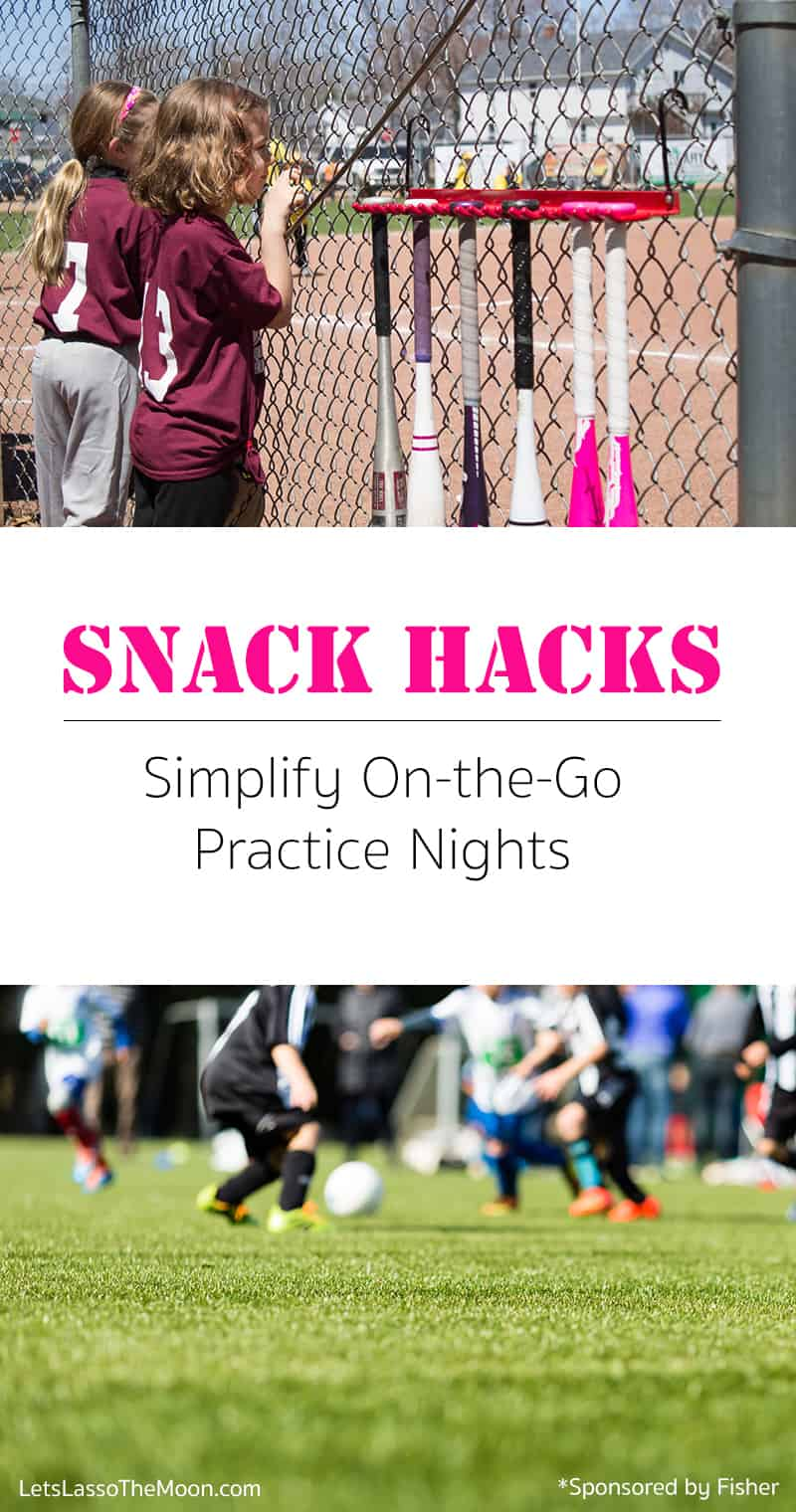 Snack Hacks: Simplifying quick on-the-go snacks for kids on practice nights  *Love these snack organization ideas for the pantry