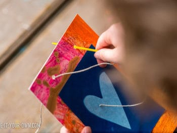 Solar Print Art for Children: Make a Handmade Mother's Day Garland *This educational DIY kids' craft is so sweet! Love the colors...