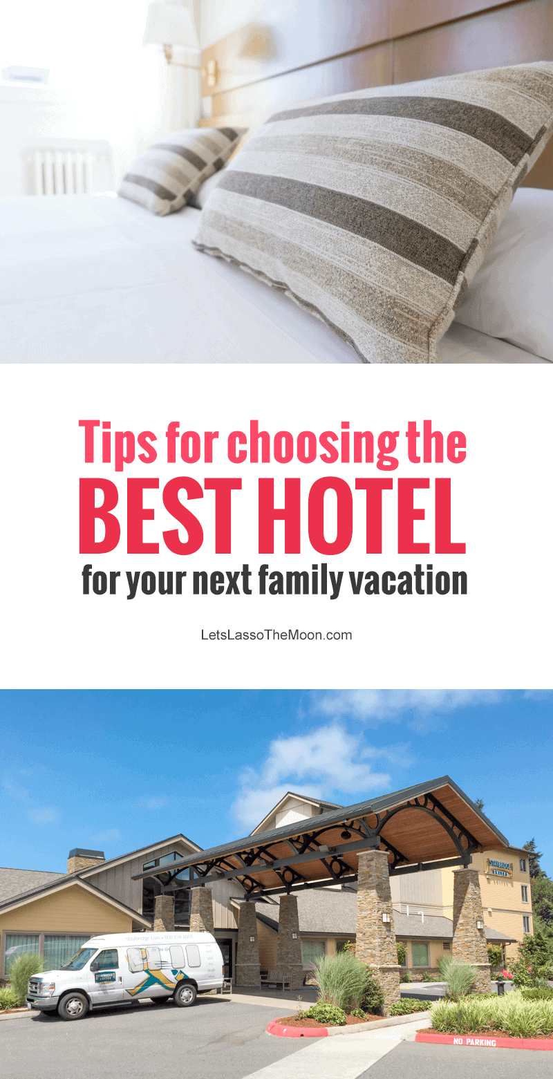 When you're ready to book your next family vacation, check out these helpful tips to help you when choosing your hotel for your trip. *Great tips on getting the best travel deals