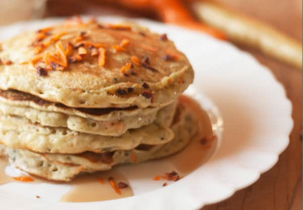 Easter Bunny Cakes — Carrot Pancakes Recipe