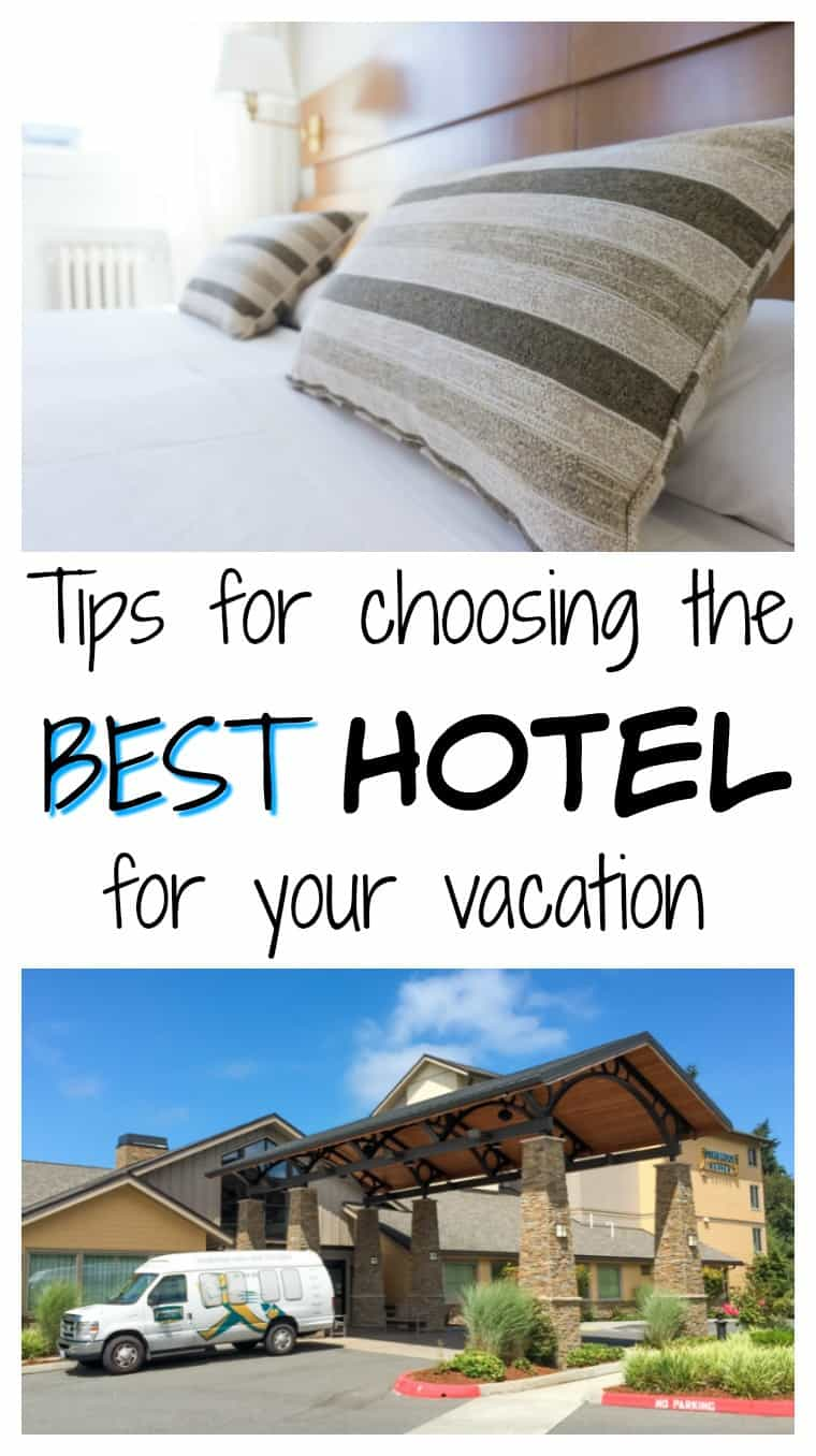 When you're ready to book your next vacation, check out these helpful tips to help you when choosing the best hotel for your trip.