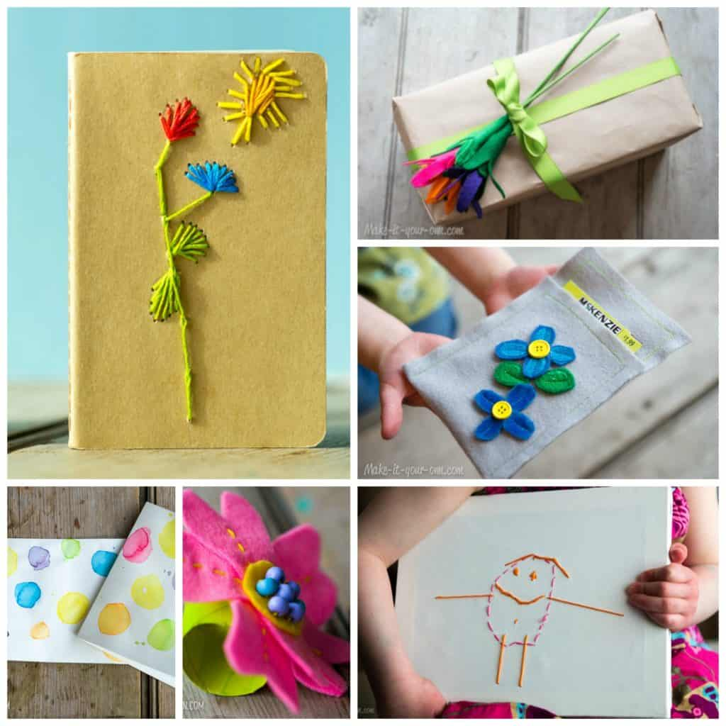 Handmade Mother's Day Gift Ideas for Kids *Love the solar print art project!