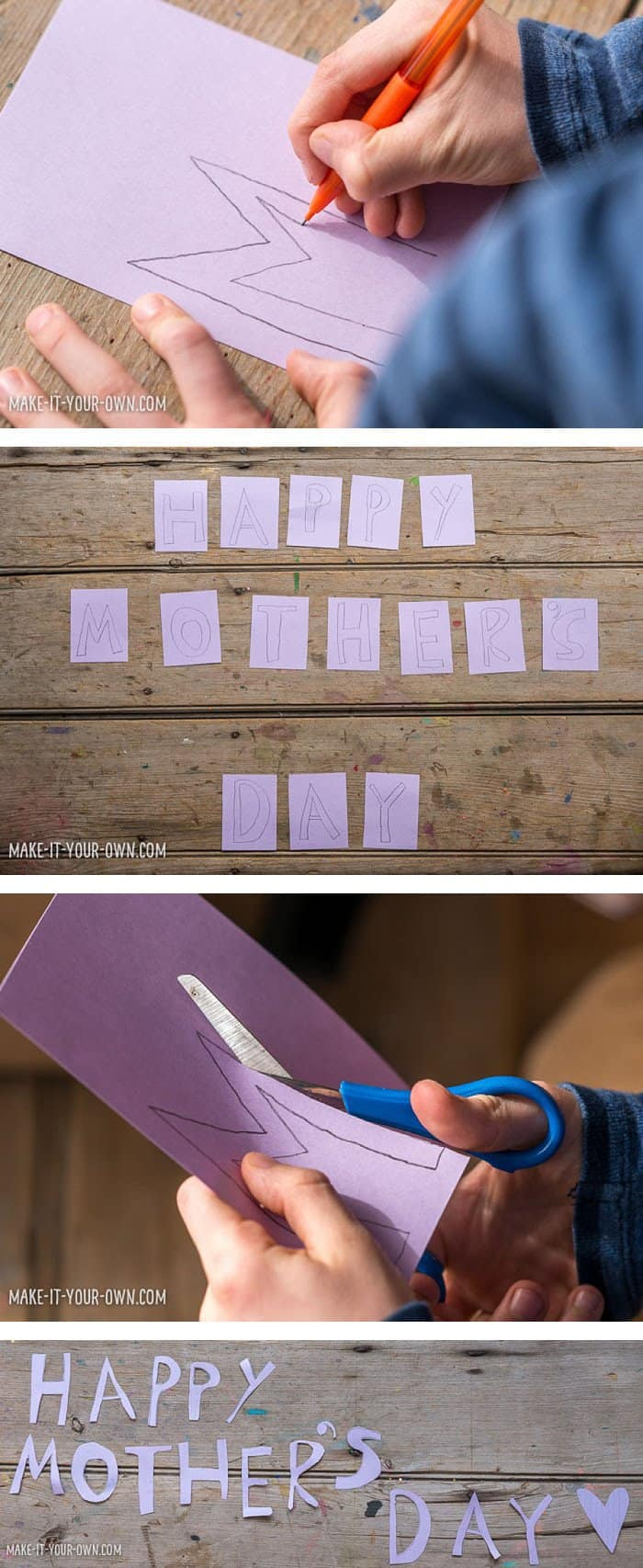 Solar Print Art for Children: Make a Handmade Mother's Day Garland *This educational DIY kids' craft is so sweet. Love the final product. The colors are lovely!