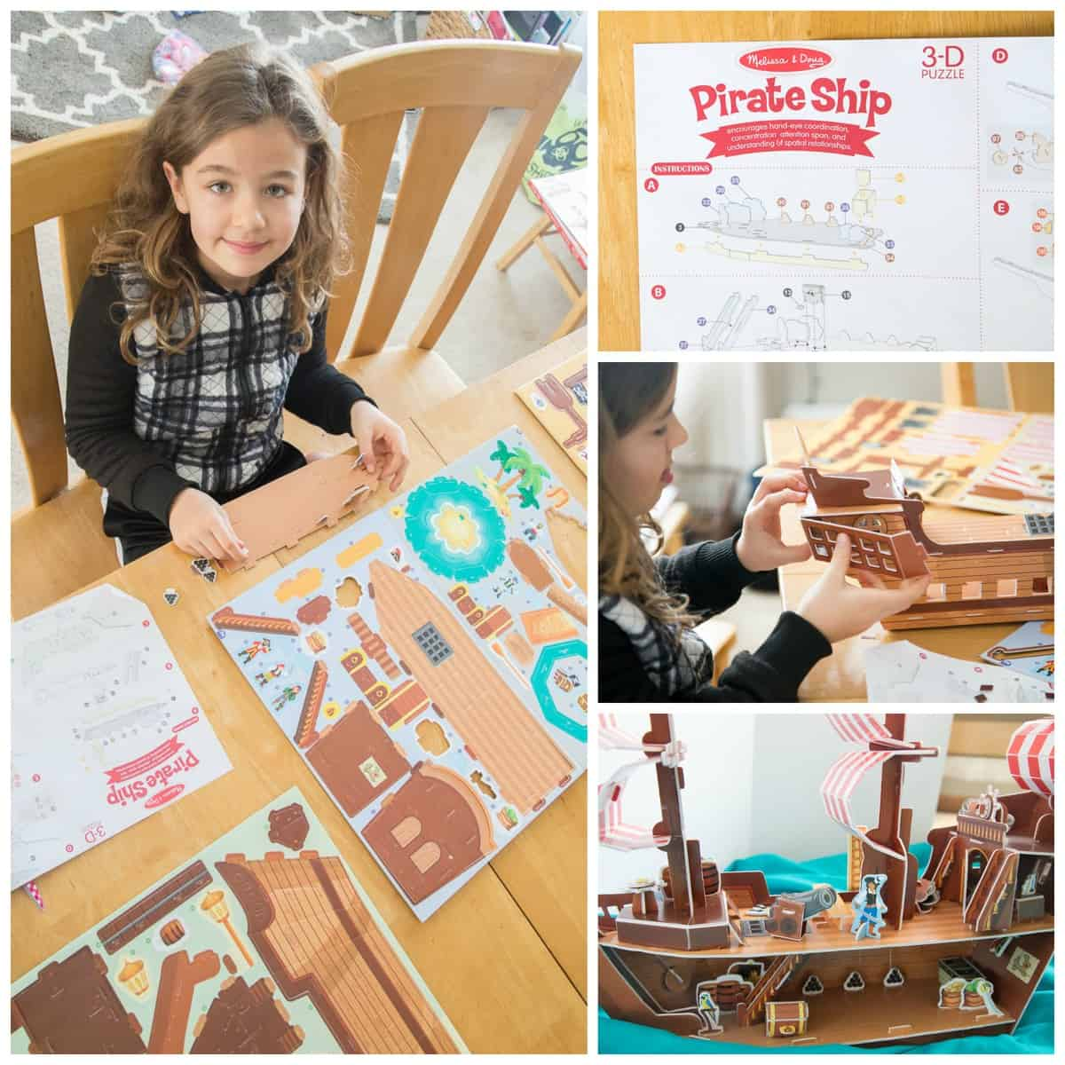 Stop Motion Animation for Kids: A super-simple tutorial for children *This is so cool. Love this 3D pirate ship puzzle they used in their project.