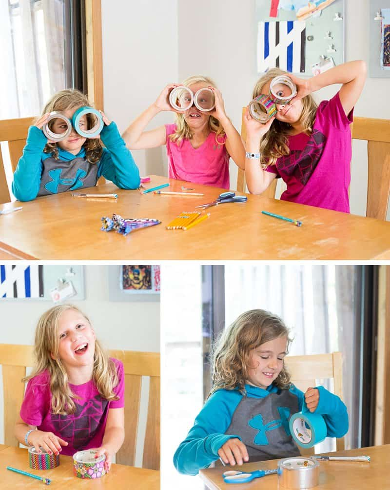 DIY Duct Tape Flower Pens — An Easy Video Tutorial for Kids by Kids *I never knew this was so simple. These kids crack me up. Saving this for the kids to do.
