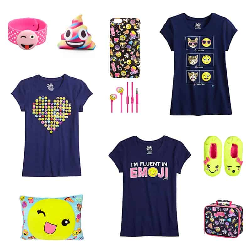 Emoji Gifts for Tweens *So many great ideas