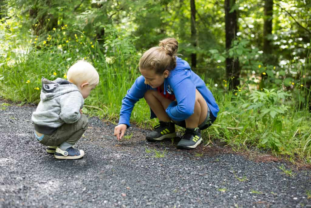 The worst mistake you can make when hiking with kids ... This is a great read for parents.