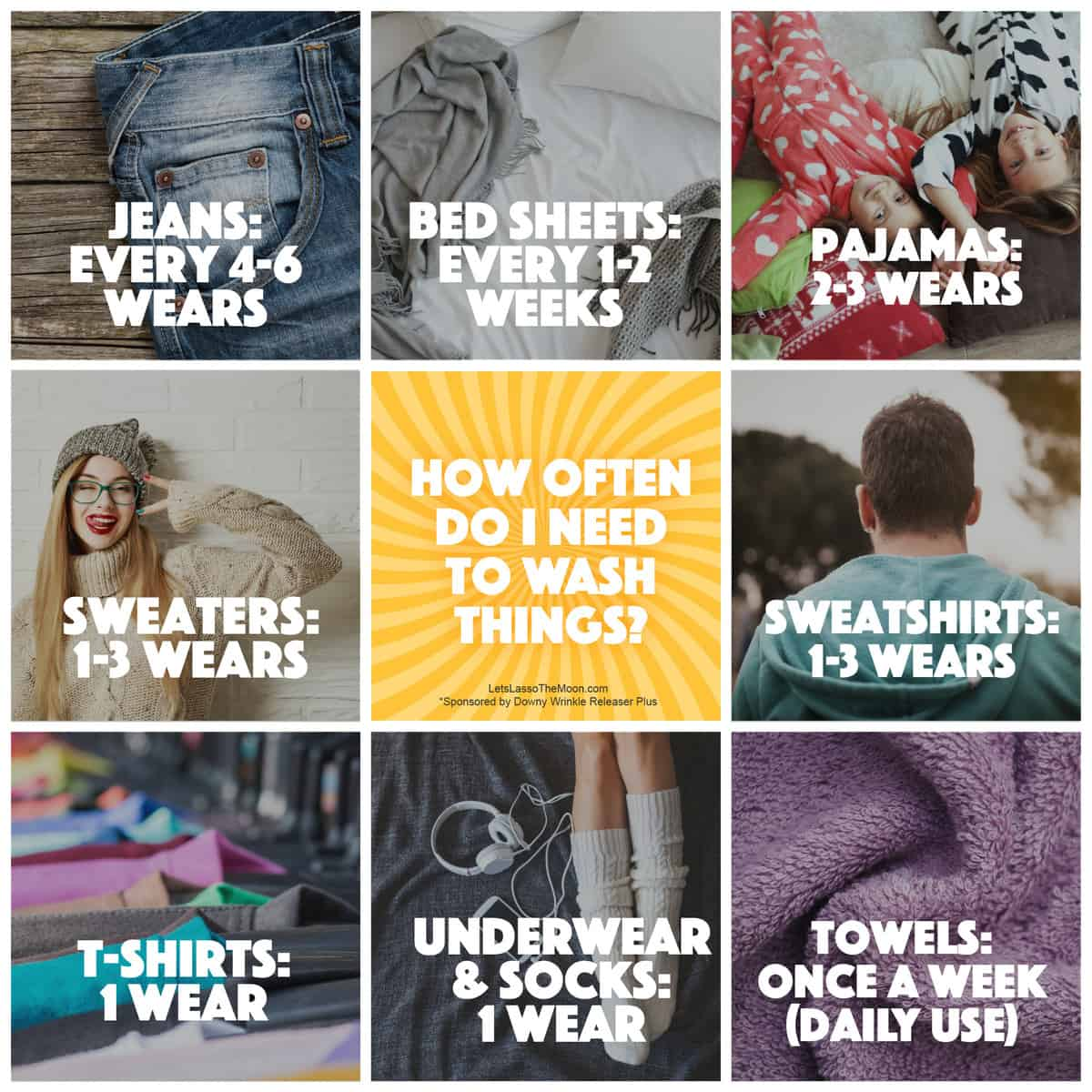 How often do I need to wash things? This is a great laundry guide for parents to give to their kids. *Bookmarking this article, great tips for tweens