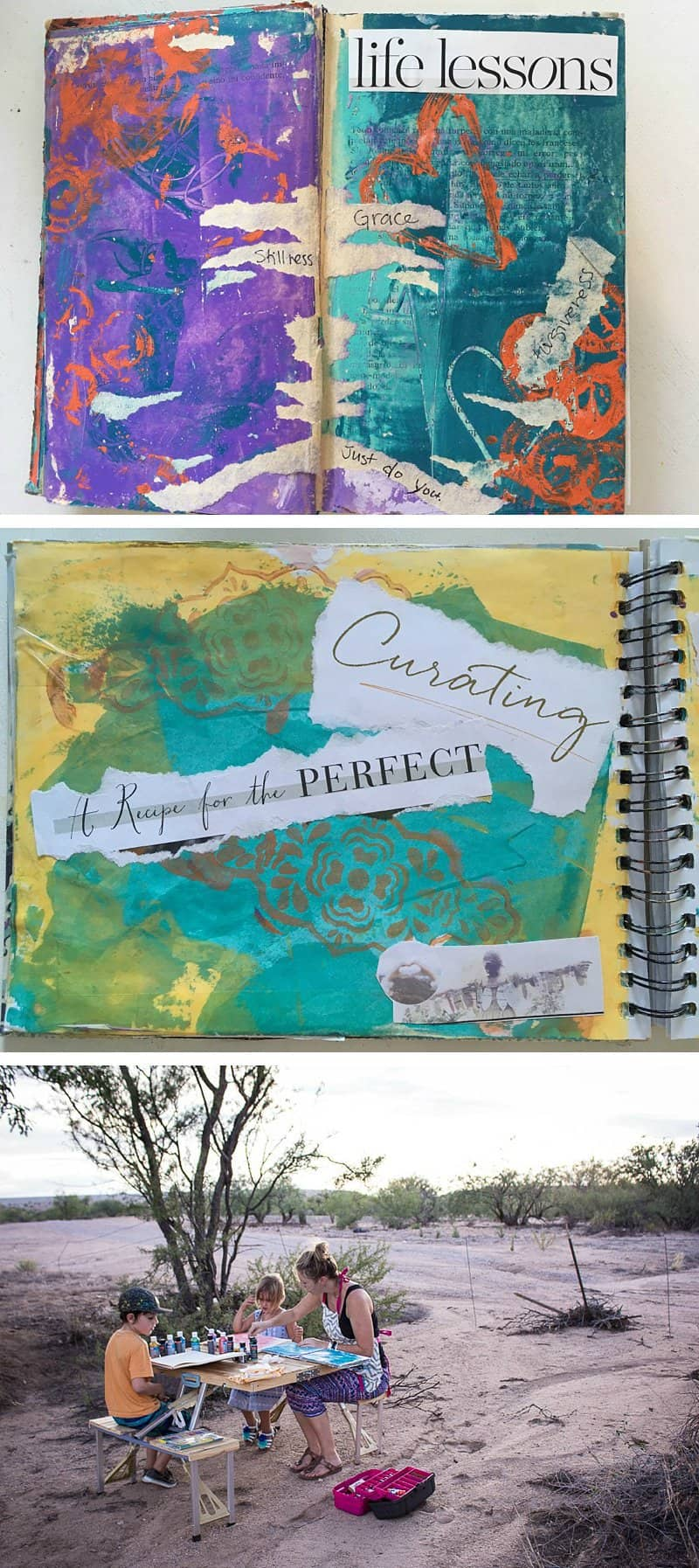 My secret weapon to the inherit chaos of mothering — a journal. *Great post for parents
