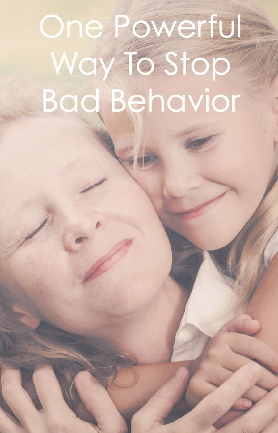 This one simple way to change bad behavior is simple and powerful. Once you know how and why this changes bad behavior, you can use it over and over again! www.letslassothemoon.com