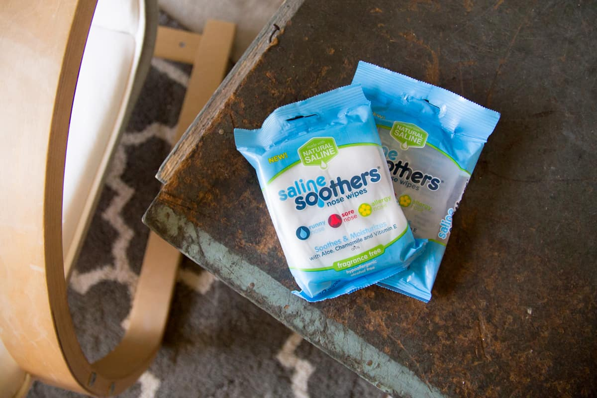 Saline Soothers for seasonal allergies