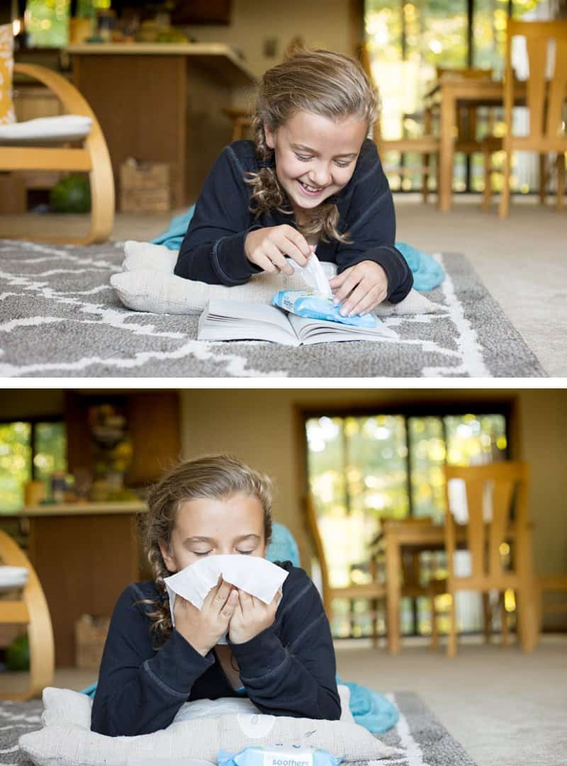10 Insanely Useful Tips for Parents Who Have Kids with Seasonal Allergies *If your children suffer from fall allergies, this is a must-read. These saline wipes sound awesome.