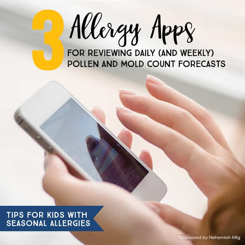 10 Insanely Useful Tips for Parents Who Have Kids with Seasonal Allergies *If your children suffer from fall allergies, this is a must-read. Great list of pollen count apps.