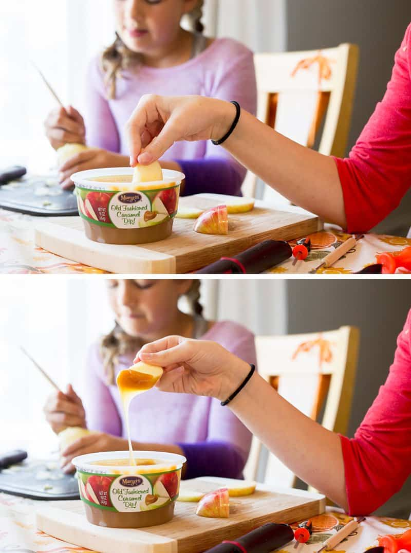 Marzetti® Old Fashioned Caramel Dip is a favorite fall family tradition. So delicious.