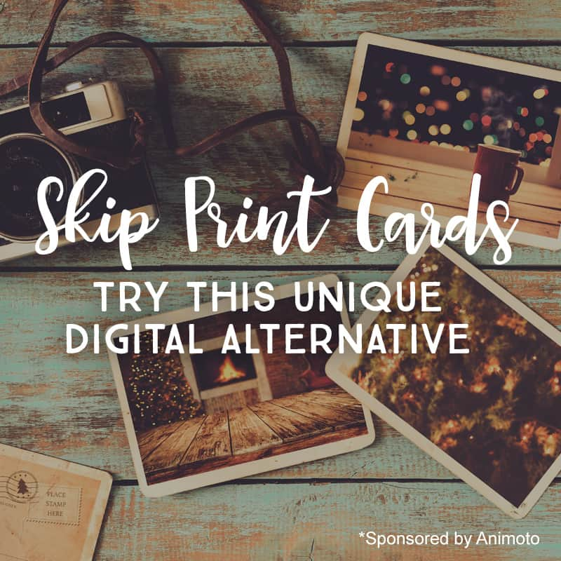 Skip print cards this holiday season - Try this unique digital alternative *Loving this Christmas letter idea