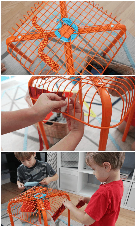 weaving activity