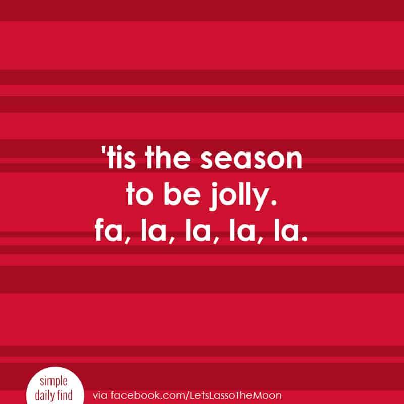 'tis the season to be jolly. fa la la la la. *Loving these family holiday traditions for kickstarting the Christmas season.