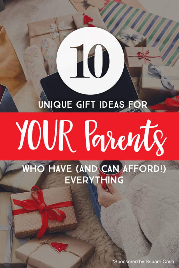 Unique gift ideas for parents who have everything *Loving this list of suggestions